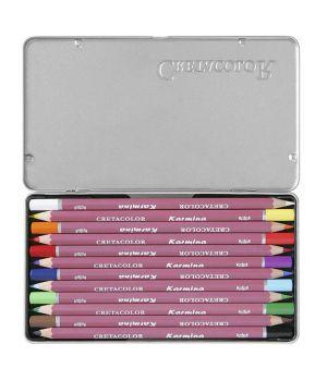 Профессиональные цветные карандаши «Karmina» 12 цветов
