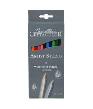 """Акварельные карандаши CretacoloR """"Artist Studio Line"""" 12 цветов"""