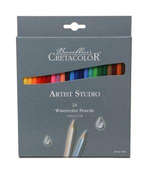 """Акварельные карандаши CretacoloR """"Artist Studio Line"""" 24 цвета"""