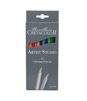 """Набор цветных карандашей CretacoloR """"Artist Studio Line"""" 12 цветов"""