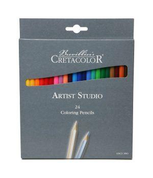 """Набор цветных карандашей CretacoloR """"Artist Studio Line"""" 24 цвета"""