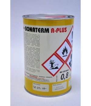 Клей полихлоропреновый высокотемпературный  BONATERM A-plus (банка 1л/0,8кг)