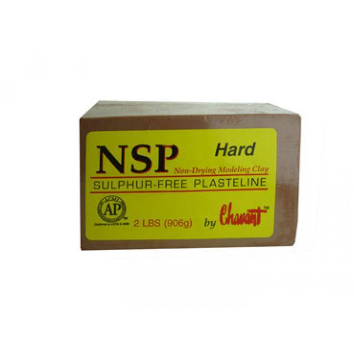 Пластилин NSP Hard (твердый)