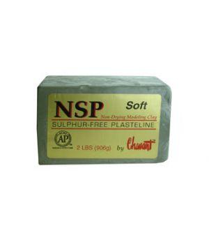 Пластилин NSP Soft (мягкий)
