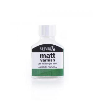 Матовый лак для акриловых красок REEVES, 75 мл