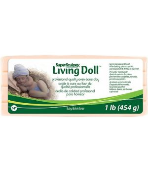 Super Sculpey Living Doll 454г Baby