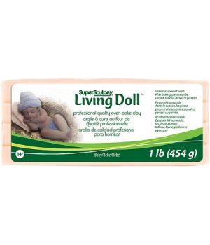 Полимерная глина Super Sculpey Living Doll 454г Baby