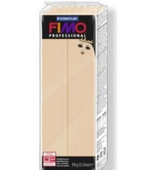 Пластика - полимерная глина FIMO Professional Doll art  454г непрозрачный песочный (8071-45)
