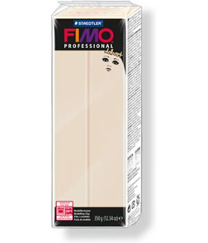 Пластика - полимерная глина FIMO Professional Doll art 454г полупрозрачный бежевый (8071-44)
