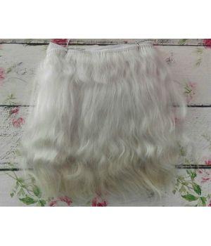 Волосы для кукол натуральные цвет: пепельный блондин